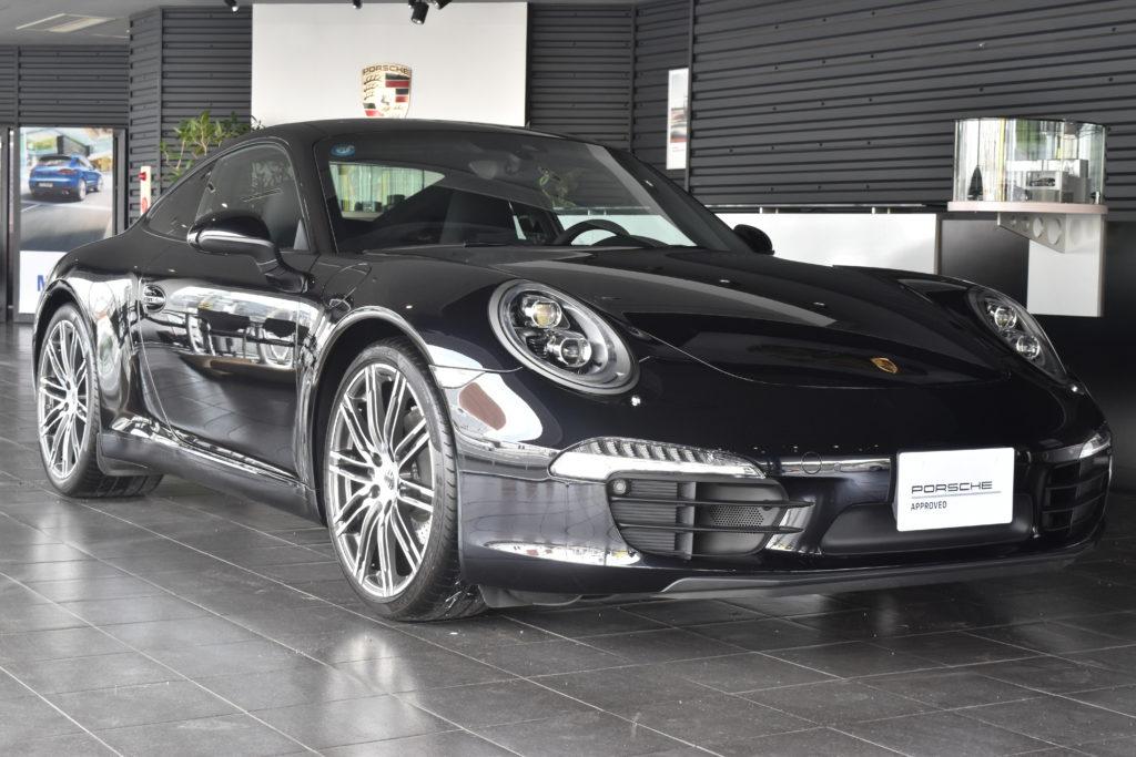 2015年式 911カレラ ブラックエディション PDK 左ハンドル 【湘南認定中古車センター在庫車両】