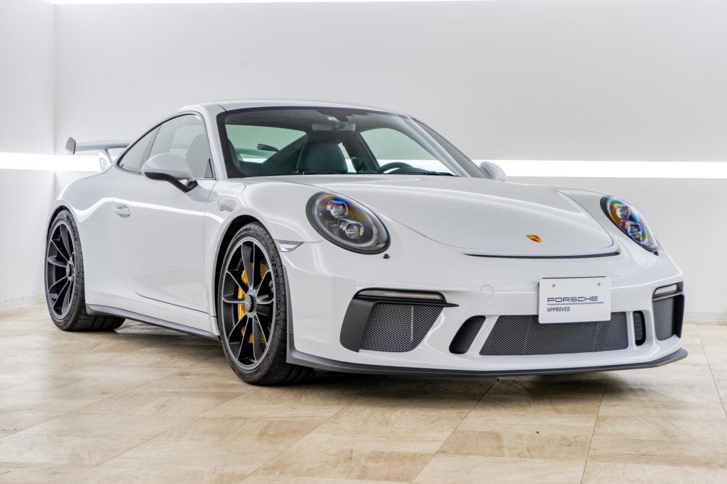2018年式 911GT3 6速マニュアル 左ハンドル